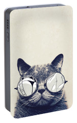 Cool Cat Portable Battery Charger by Vitor Costa