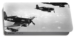 Corsair Planes  Us Airforce Portable Battery Charger by American School
