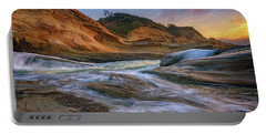 Cove At Cape Kiwanda, Oregon Portable Battery Charger by Rick Berk