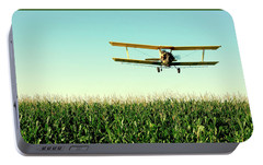 Crops Dusted Portable Battery Charger by Todd Klassy