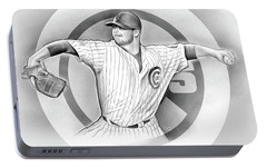 Cubs 2016 Portable Battery Charger by Greg Joens