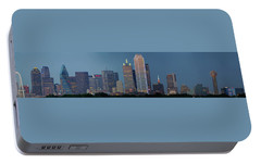 Dallas At Night Portable Battery Charger by Jonathan Davison