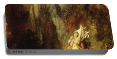 Dejanira  Autumn Portable Battery Charger by Gustave Moreau