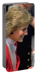 Portable Battery Charger featuring the photograph Diana Princess Of Wales by Travel Pics