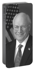 Dick Cheney Portable Battery Charger by War Is Hell Store