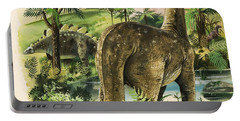 Dinosaurs Portable Battery Charger by English School