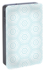 Dip In The Pool -  Pattern Art By Linda Woods Portable Battery Charger by Linda Woods