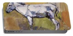 Donkey Stallion, Ronda Portable Battery Charger by Mark Adlington