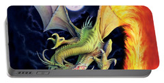 Dragon Fire Portable Battery Charger by The Dragon Chronicles