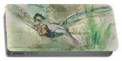 Dragonfly Portable Battery Charger by Gustave Moreau