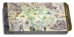 Dragons Of The World Portable Battery Charger by The Dragon Chronicles - Garry Wa