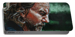 Eddie Vedder Portable Battery Charger by Joel Tesch
