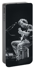 Eddie Vedder Playing Live Portable Battery Charger by Marco Oliveira