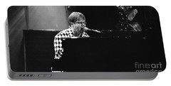Elton John-0147 Portable Battery Charger by Gary Gingrich Galleries