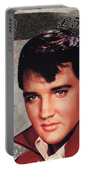 Elvis Presley Portable Battery Charger by Unknown