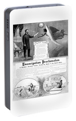 Emancipation Proclamation Portable Battery Charger by War Is Hell Store