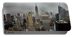Empire State Building Portable Battery Charger by Martin Newman