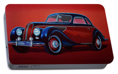Emw Bmw 1951 Painting Portable Battery Charger by Paul Meijering