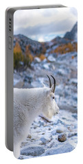 Enchantments Local Goat Resident Portable Battery Charger by Mike Reid