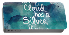 Every Cloud Portable Battery Charger by Linda Woods