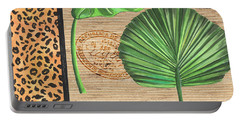Exotic Palms 2 Portable Battery Charger by Debbie DeWitt