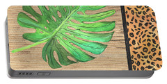 Exotic Palms 3 Portable Battery Charger by Debbie DeWitt