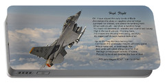 F16 - High Flight Portable Battery Charger by Pat Speirs