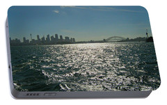 Fabulous Sydney Harbour Portable Battery Charger by Leanne Seymour