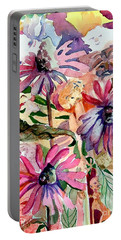 Fairy Land Portable Battery Charger by Mindy Newman