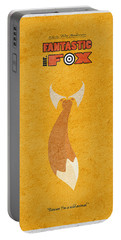 Fantastic Mr. Fox Portable Battery Charger by Ayse Deniz