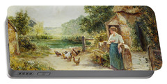 Feeding Time Portable Battery Charger by Ernest Walbourn