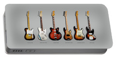 Fender Guitar Collection Portable Battery Charger by Mark Rogan