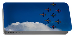 Fighter Jet Portable Battery Charger by Martin Newman