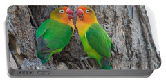 Fischers Lovebird Agapornis Fischeri Portable Battery Charger by Panoramic Images