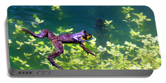 Floating Frog Portable Battery Charger by Nick Gustafson