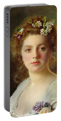 Flora Portable Battery Charger by Gustave Jacquet