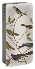 Fly Catchers Portable Battery Charger by John James Audubon