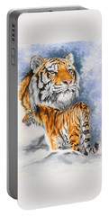 Forceful Portable Battery Charger by Barbara Keith
