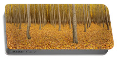 Forest Corridors Portable Battery Charger by Adele Buttolph