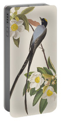 Fork-tailed Flycatcher  Portable Battery Charger by John James Audubon