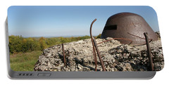 Portable Battery Charger featuring the photograph Fort De Douaumont - Verdun by Travel Pics