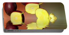 Fresh Ripe Mango Fruits Portable Battery Charger by David French