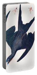 Frigate Penguin Portable Battery Charger by John James Audubon