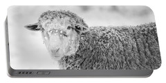Frozen Dinner Portable Battery Charger by Mike  Dawson