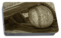 Game Ball Portable Battery Charger by Bill Cannon