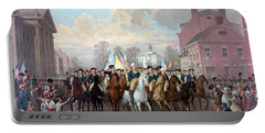 General Washington Enters New York Portable Battery Charger by War Is Hell Store