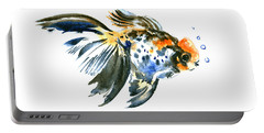 Goldfish Portable Battery Charger by Suren Nersisyan