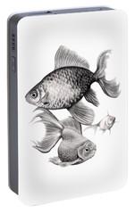 Goldfish Portable Battery Charger by Sarah Batalka
