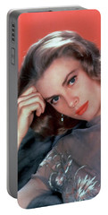 Grace Kelly Portable Battery Charger by American School