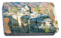 Portable Battery Charger featuring the photograph Grand Canyon Rock Formations, Arizona by A Gurmankin